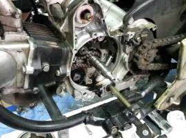 Jak naprawić motocykl - wyciek oleju z silnika 139FMB