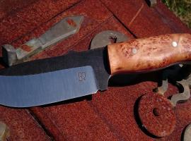 Jak zrobić nóż ze stali nc6