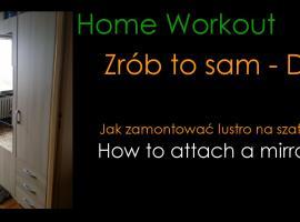 Jak zamontować lustro na szafie