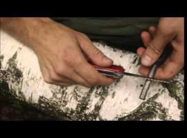 Jak wykonać szybką modyfikację Victorinox'a pod krzesiwo