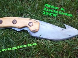 Jak zrobić nóż z hakiem (wzór z gry CS:GO)