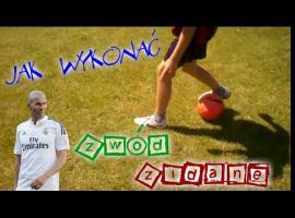 Jak wykonać Zidane feint w piłce nożnej
