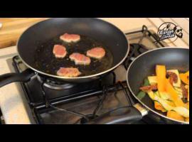 Jak zrobić polędwiczki wieprzowe z pappardelle warzywnym
