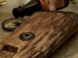 Jak zmienić kolor drewna