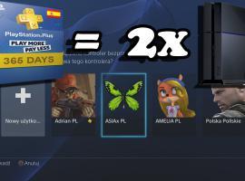 Jak podzielić konto PlayStation Plus na dwie osoby