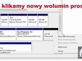 Jak tworzyć partycje na dysku twardym w Windows 10