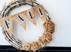 Jak zrobić jesienny wianek - dekoracja do domu i na drzwi