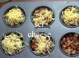 Jak zrobić omlet w postaci muffinka