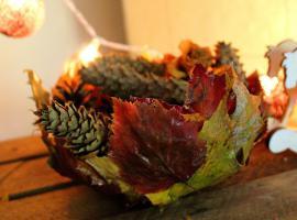 Jak zrobić misę z jesiennych liści