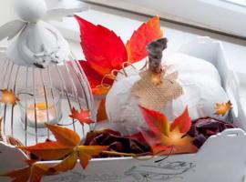 Jak wykonać jesienną dekorację - sztuczna dynia