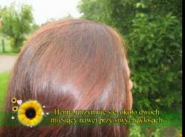 Jak ukryć siwe włosy - farbowanie henną