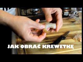 Jak obierać krewetki
