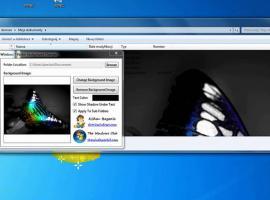 Jak zmienić tło w folderach Windows 7