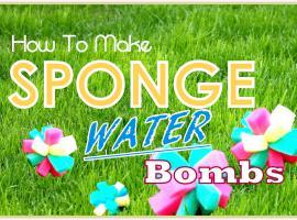 Jak zrobić bomby wodne z gąbeczek