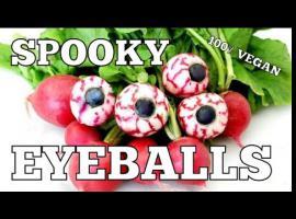 Jak zrobić jadalne gały na Halloween