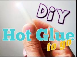 Jak przygotować przenośną wersje kleju na gorąco
