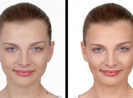 Jak konturować twarz w kształcie serca