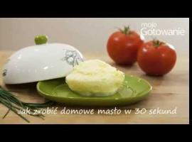 Jak zrobić własne masło w 30 sekund