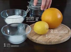 Jak przygotować prosty, domowy peeling cytrusowy