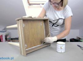 Jak zrobić stolik nocny z szuflady