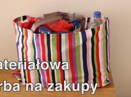 Jak uszyć materiałową torbę na zakupy