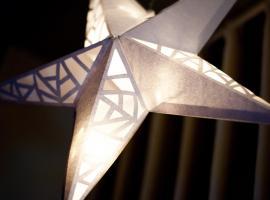 Jak zrobić papierowy lampion na dekorację świąteczną