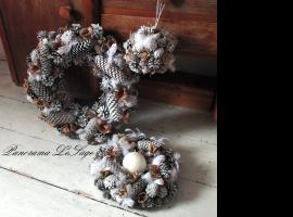 Jak zrobić świąteczny wianek i stroik na stół