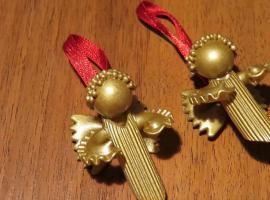Jak zrobić świąteczne aniołki z makaronu