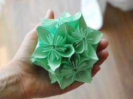 Jak zrobić Kulę Kusudama / How to make a Kusudama Ball