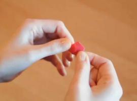 Jak zrobić mini gwiazdkę origami