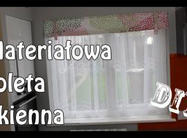 Jak zrobić roletę z materiału na okno
