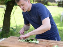 Jak zrobić dywan z ogórka