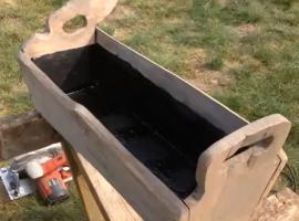 Jak zrobić donicę z drewna