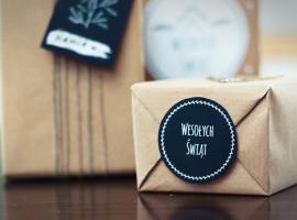 Jak zrobić etykiety na świąteczne prezenty