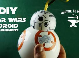 Jak zrobić bombkę na choinkę z motywem Star Wars