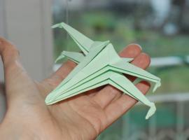 Jak zrobić X-wing origami