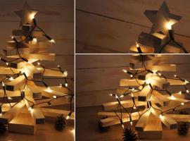 Jak wykonać drewnianą choinkę