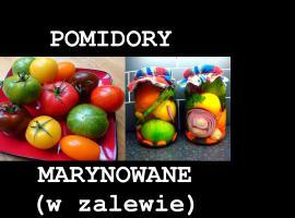Jak zrobić pomidory marynowane