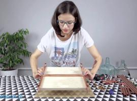 Jak zrobić stolik z miedzianych rurek
