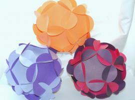 Jak zrobić papierową kulę kwiatową na dekorację