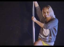 Jak tańczyć na rurze - Iron Pole Dance - lekcja 1 cz. 2