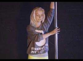 Jak tańczyć na rurze - Iron Pole Dance - lekcja 1