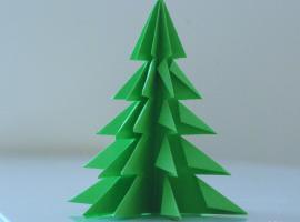 Jak zrobić choinkę z papieru - dekoracja i projekt dla dzieci