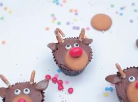 Jak zrobić babeczki świąteczne - renifery