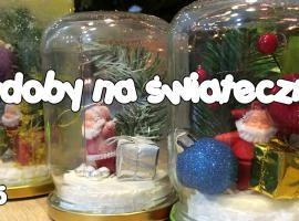 Jak zrobić kulę świąteczną ze słoika