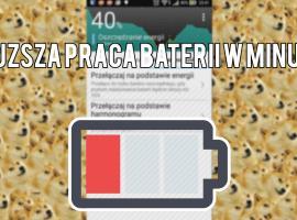 Jak wydłużyć czas pracy baterii w telefonie