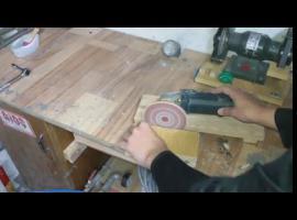 Jak zrobić prostą szlifierkę stołową