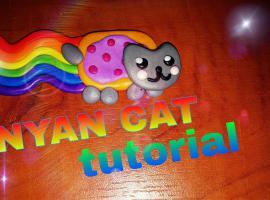 Jak zrobić ikonę internetu z modeliny - NYAN CAT