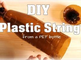 Jak zrobić linę z plastikowej butelki