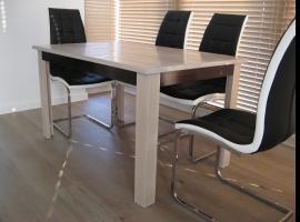 Jak zbudować stół dębowy bielony